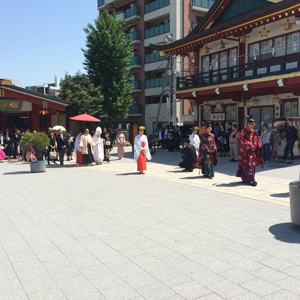 神田明神での結婚式