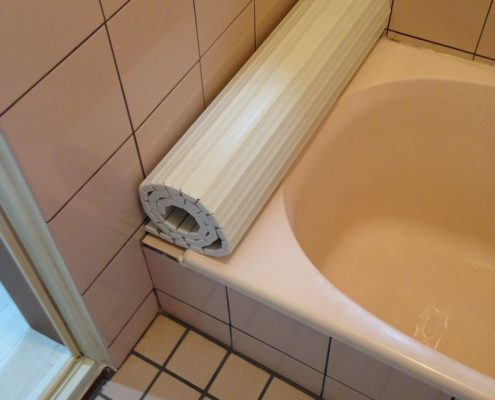 浴室の配管が劣化