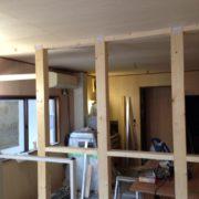 内装下地の造作工事