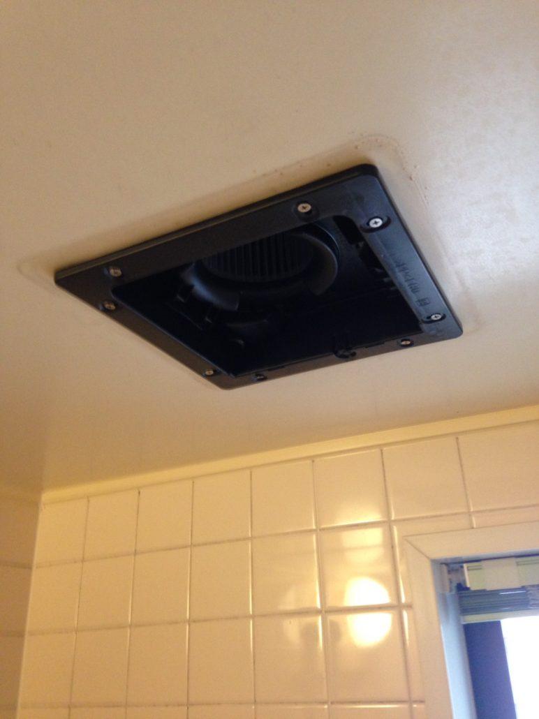 天井換気扇の交換
