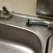 水栓からの水漏れ