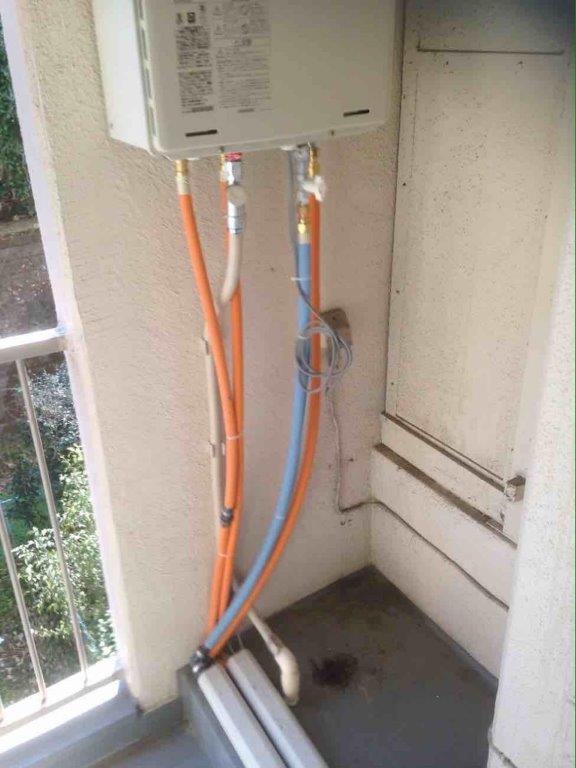 新規配管設置