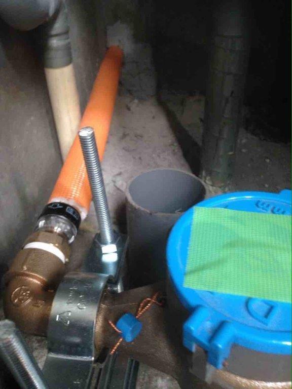 配管の設置