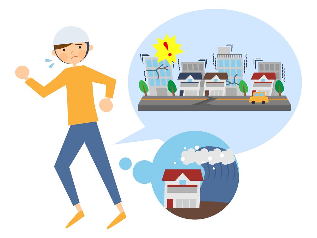 自然災害のリスク